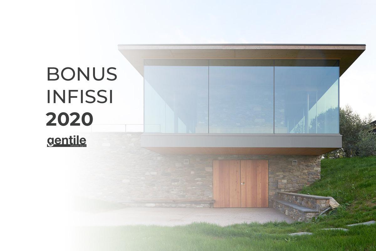 Bonus Infissi 2020: cos'è e come funziona
