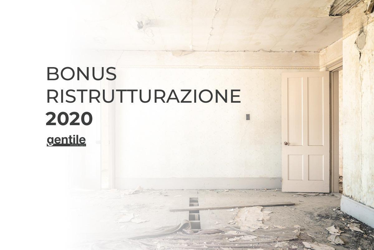 Bonus Ristrutturazione edilizia